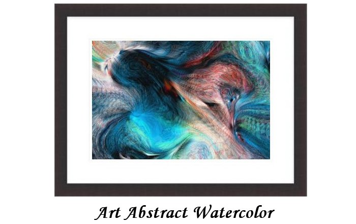Art Abstract Watercolor