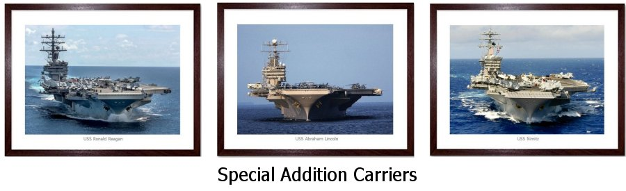 Special Addition Carriers Framed Prints