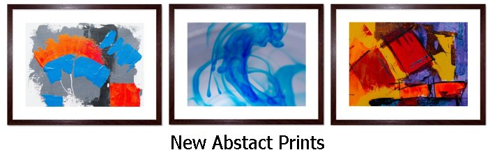 Abstract Art Framed Prints