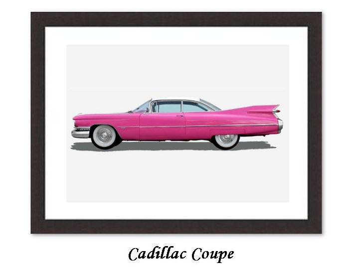 4 Cadillac Coupe