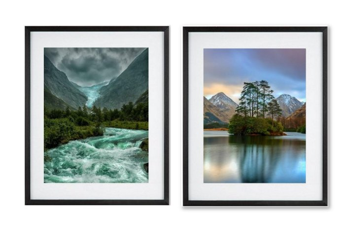 Around The World Framed Prints