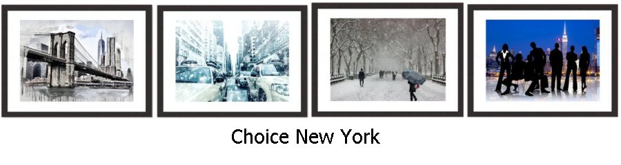 Choice New York Framed Prints