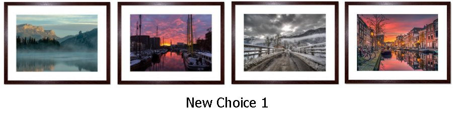 New Selected Choice Framed Prints