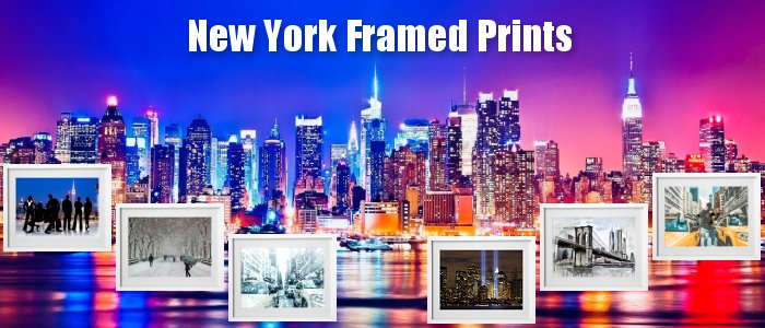 Beautiful New York Framed Prints to grace the walls of your home
