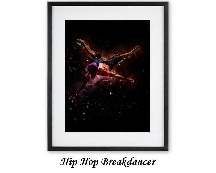 Hip Hop Breakdancer