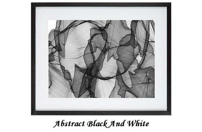Abstract Black & White