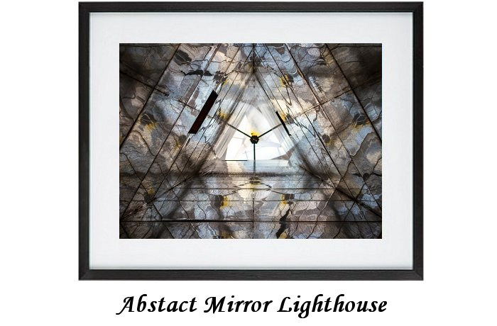 Abstract Mirror Lighthouse
