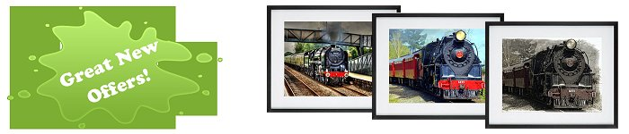 Locomotives Framed  Prints