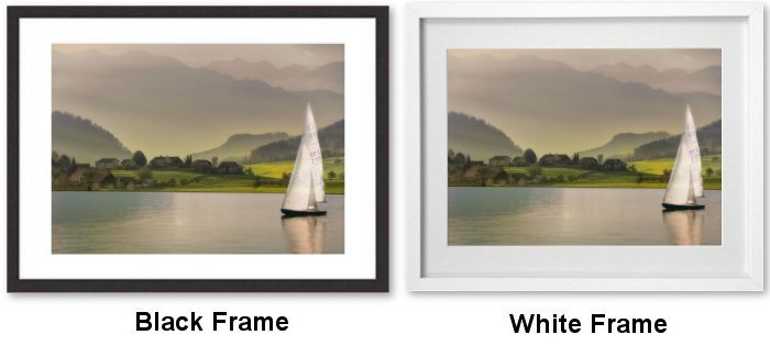 Black Frame or White Frame