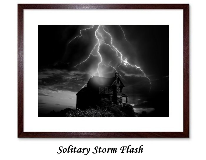 Solitary Storm Flash