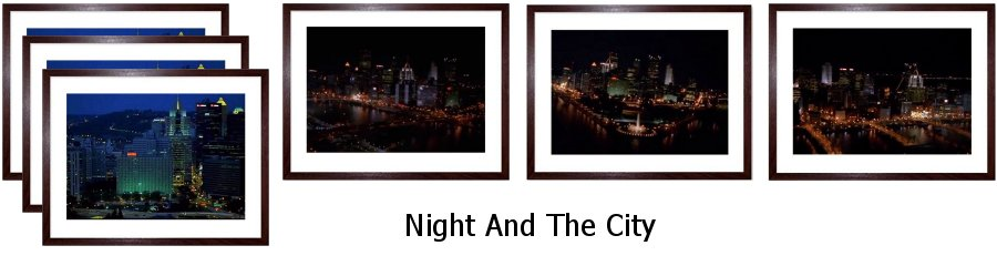 Night And The City  Framed Prints