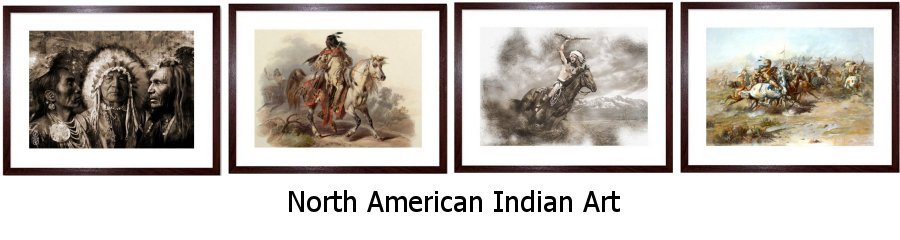 North American Indian Art Prints