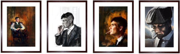 See More Peaky Blinders Prints with Free Delivery to Mainland UK