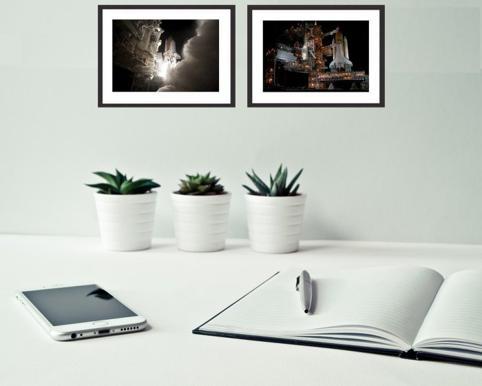 Space Shuttle Framed  Prints