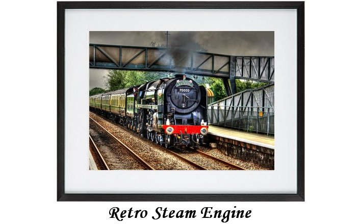 Retro Steam Engine