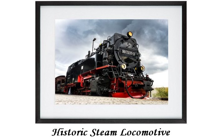 Historic Steam Locomotive